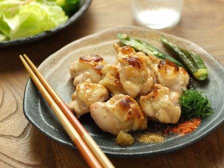 鶏肩肉の塩焼きy11