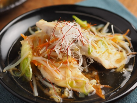 白身魚のあんかけフライパン蒸07