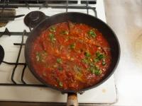 さんまのガーリックトマト煮52