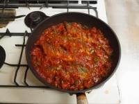 さんまのガーリックトマト煮53