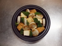 長芋と厚揚げの和風チーズ焼68