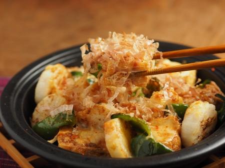 長芋と厚揚げの和風チーズ焼52
