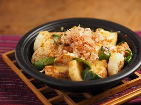 長芋と厚揚げの和風チーズ焼13
