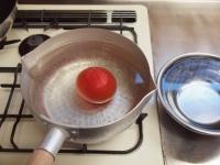 トマトとほうれん草の卵炒め24