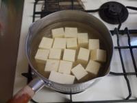 豆腐のとろとろ白菜あんかけ25