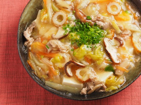 豆腐のとろとろ白菜あんかけ06