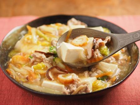 豆腐のとろとろ白菜あんかけ17