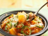 鯖缶とジャガイモのトマトチーズ22