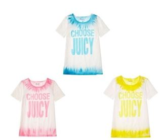 Tie-Dye Choose Juicy Tee1