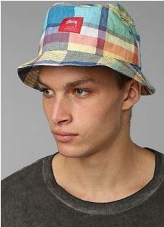 STUSSY(ステューシー) Mad Plaid Bucket Hat2