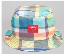 STUSSY(ステューシー) Mad Plaid Bucket Hat
