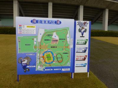 富山スタジアム案内図