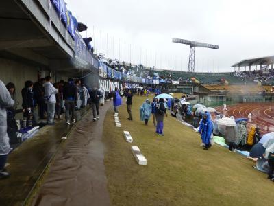 富山スタジアムゴール裏1