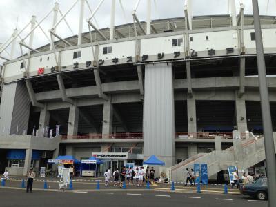 ケーズデンキスタジアム正面入口