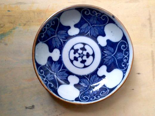 瓢箪文豆皿