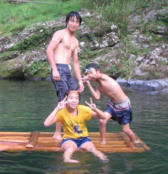 2007年夏天川村キャンプ