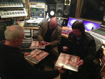 Signing the album