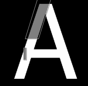 Aの書き方 選択範囲の重なり