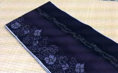 手織真綿結城紬