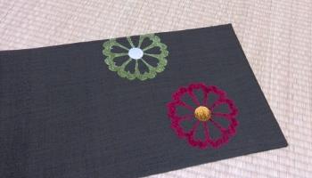 手織りすくい織 杉村 袋帯