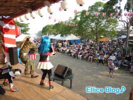 渦戦士エディーin北島ひょうたん夏祭り