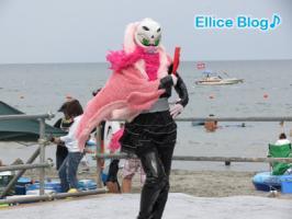 渦戦士エディーinサマービーチコンテスト