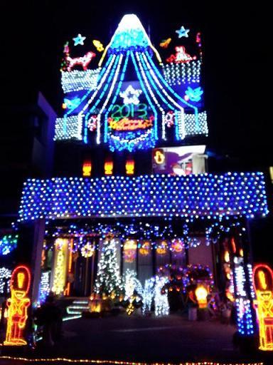 20131219 姉さん家のクリスマスイルミコピー