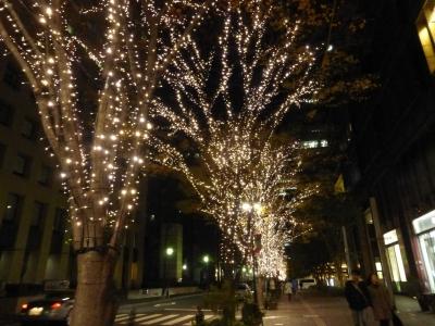 丸の内イルミネーション 2013 12.15
