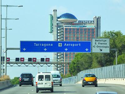 バルセロナ空港へ