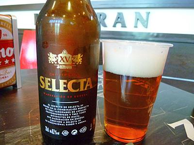 サンミゲルビール・セレクタ