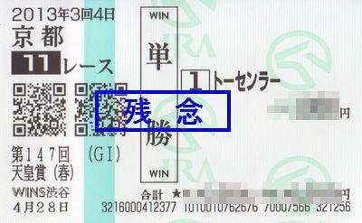 春天皇賞2013