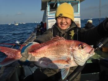 50cm真鯛