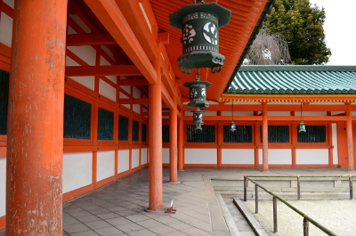 複廊の例(平安神宮)