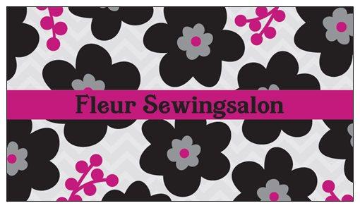Fleur sewing