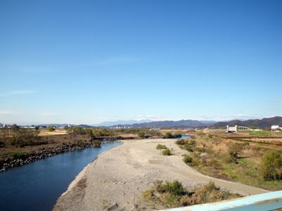 川崎橋から渡良瀬川