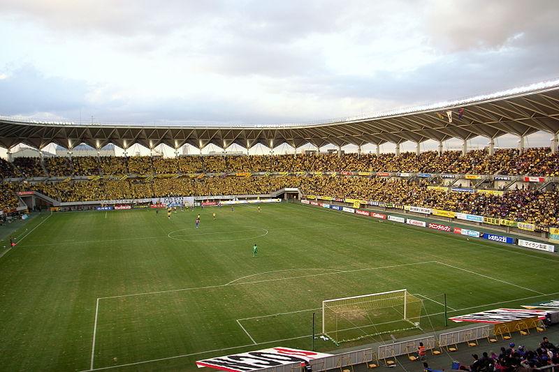 ジェフの本拠地、フクダ電子アリーナ。行ったことはありませんが、雰囲気のあるいいスタジアムですよね