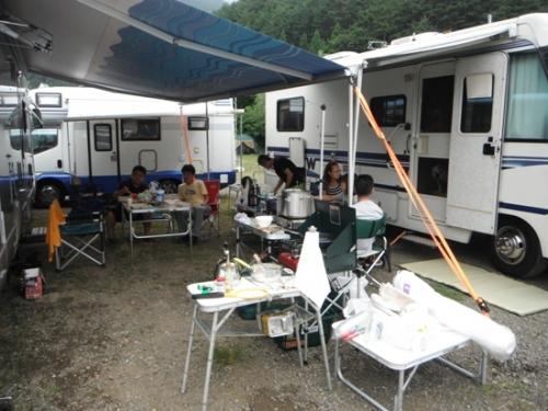 西湖キャンプ10