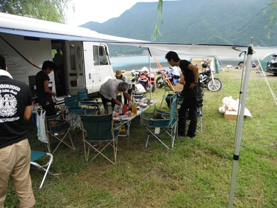 2011年9月西湖キャンプ23
