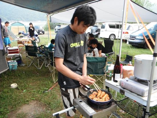2011年9月西湖キャンプ36