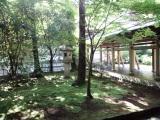 龍安寺右側の庭