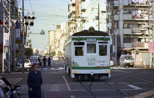 19931115阪堺線阪堺モ121形浜寺公園保存車両536-1