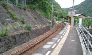 祖谷口駅2