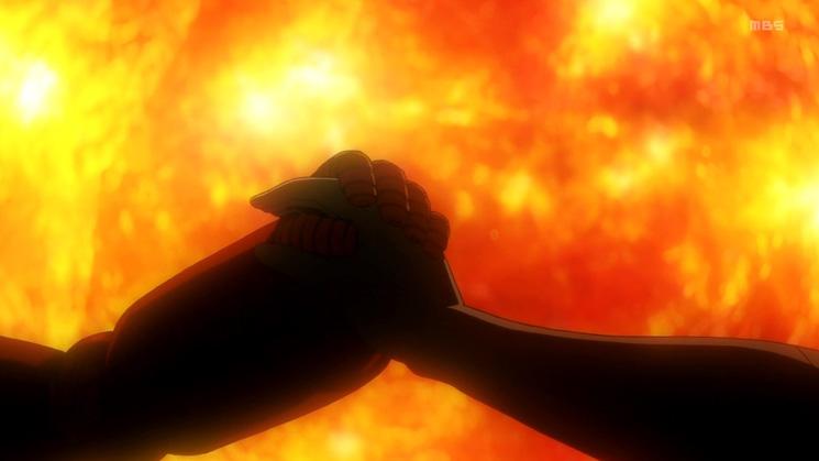 9 アナライザー オルタ 手と手を