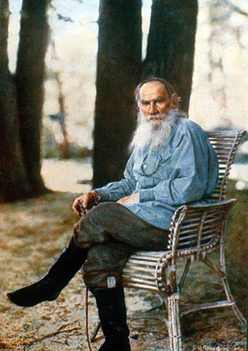 トルストイの肖像写真