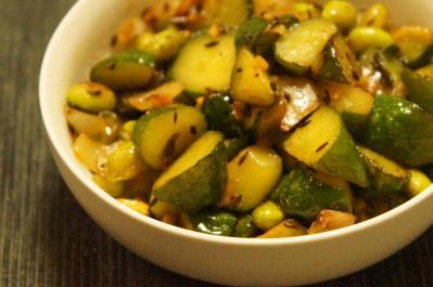 胡瓜と枝豆のグリーンサブジUP2