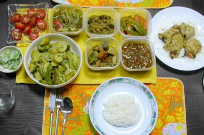 インド式お惣菜料理