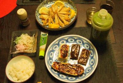 マクロビ和食の夕食