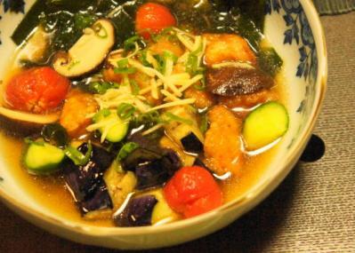 夏野菜の揚げ浸しA