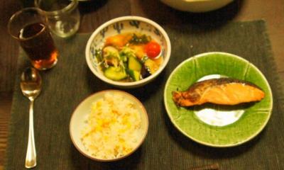 普通のマクロビご飯
