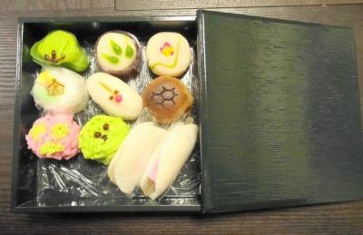 和菓子の重